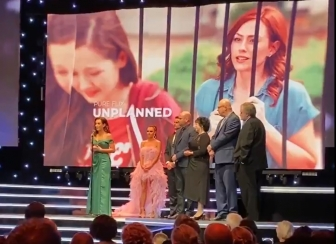 The Unplanned movie got three nominations at the Movieguide Awards - but was eliminated from the broadcast by Hallmark