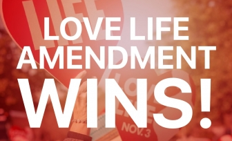 "Louisiana celebrates passage of the ""Love Life Amendment"""