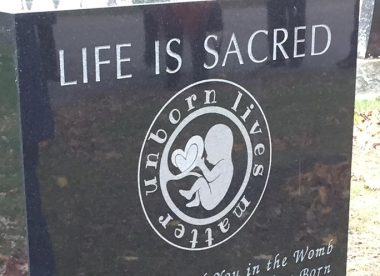 Canadian Knights of Columbus council accused of 'shaming women' for erecting memorial to aborted babies