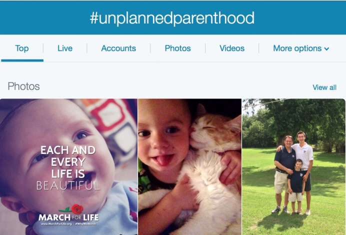 Twittersphere Trends Pro-Life with #UnPlannedParenthood