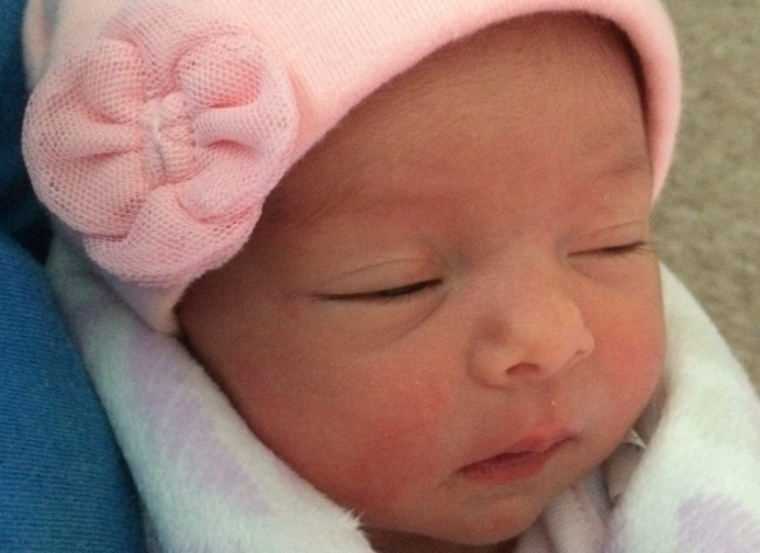 Giselle, whose mother saved her via Abortion Pill Reversal, was born Dec. 1, 2017.