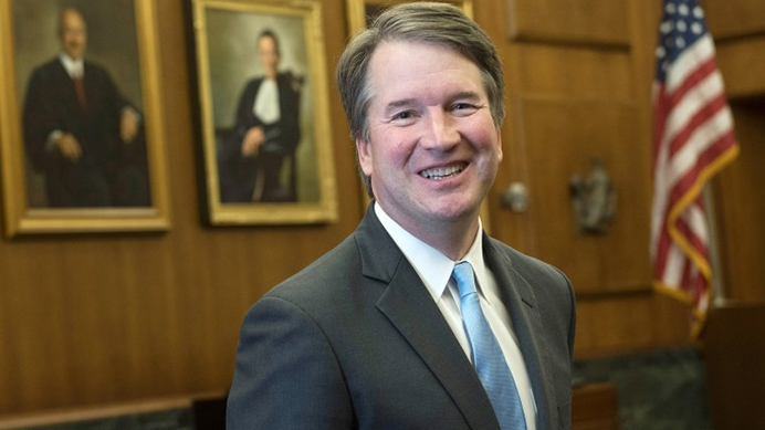 Judge Brett Kavanaugh is President Trump's nominee to fill the Supreme Court vacancy left by Justice Anthony Kennedy's retirement.