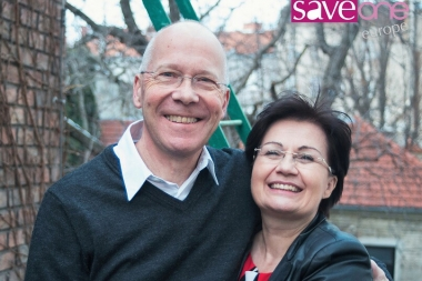 Chris and Sonja Horswell, co-directors of SaveOne Europe