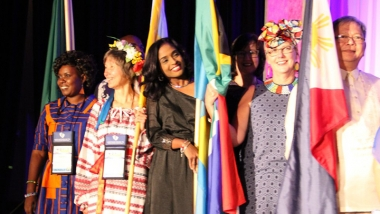 "The ""Parade of Nations"" at the 2018 Heartbeat International Annual Conference in Anaheim, California"