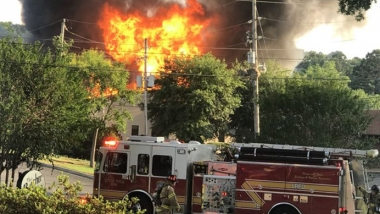 On May 20, Nicole Lashbrook pulled up to her pregnancy center to see firetrucks, community leaders, and newscasters surrounding the building her ministry called home for the last decade.