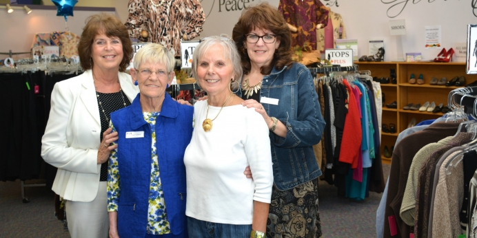 """My Sister's Closet"" Resale Shop Facilitates On-The-Job Training for New Moms"