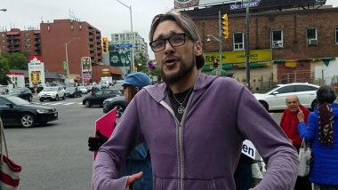 Last week, Jordan Hunt roundhouse kicked pro-life leader Marie-Claire Bissonnette at a Life Chain in Toronto.