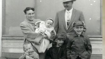In 1951, George and Liz took a leap of faith to save the life of their daughter, Mary (center).