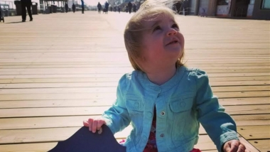 According to doctors, Zoie was supposed to be born with a trisomy disorder or a fatal heart condition. But when she was born in 2016, she had a completely clean bill of health.