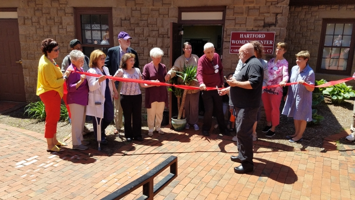 The ribbon-cutting for a new life-saving center next door to a New England abortion business.