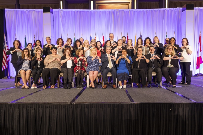 The Heartbeat International team at its Annual Conference in Dallas last week