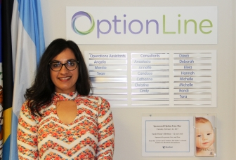 Nafisa Shamsher has answered over 237,000 calls during her 11 years with Option Line.