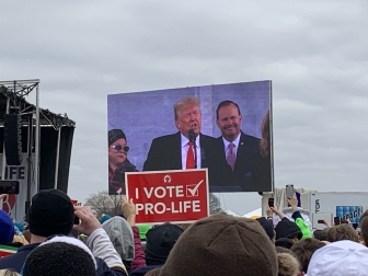 Trump's historic speech at the March for Life