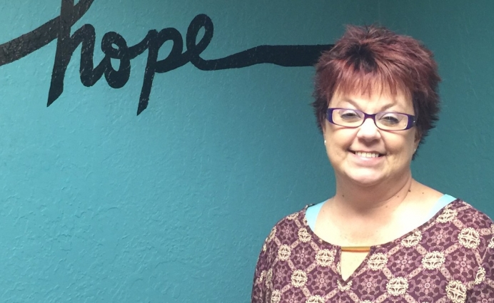 Kathy Gibson serves as executive director for First Choice Pregnancy Center in Weatherford, Okla.