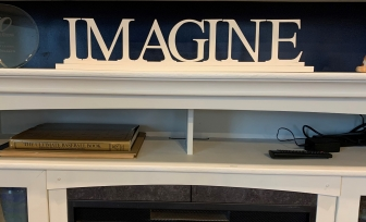 "The Waldens ""Imagine"" word art"