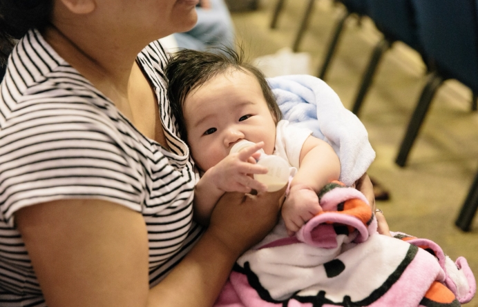 Pro-life women and groups are visiting shelters throughout Houston to serve young mothers displaced by Tropical Storm Harvey.