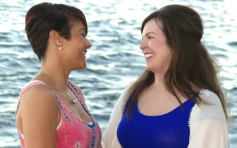 "Laurie Gaines (right) chose life for her daughter, Arica, and that ""choice"" changed the course of her life."