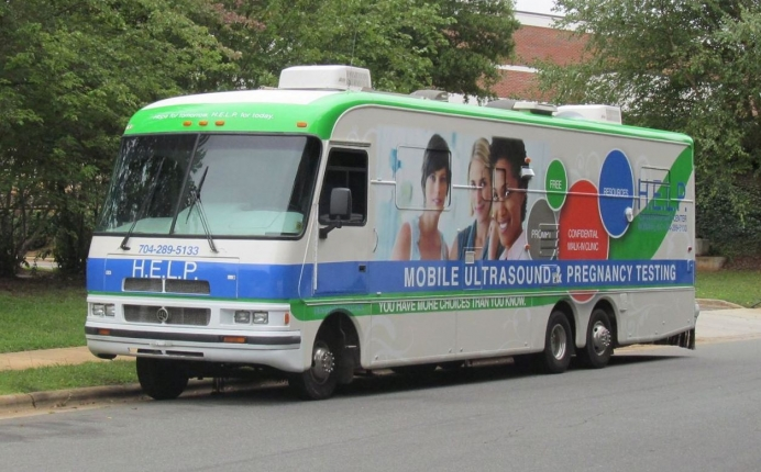HOPE PRC's new mobile ultrasound unit, given as a gift from a nearby sister organization in rural North Carolina.