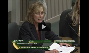 Mary Sterner Sosa, M.D., the only OB/GYN who spoke at the hearing, testified against the bill.
