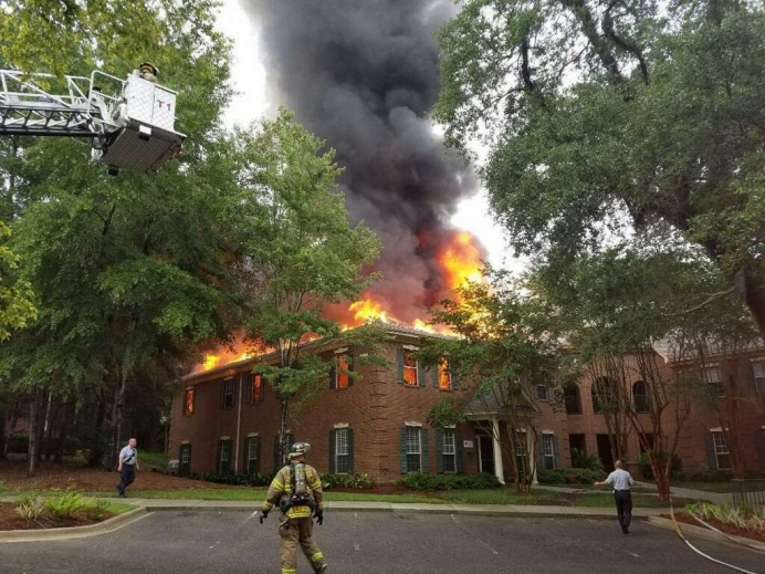Florida Pregnancy Care Network's office space was damaged by a fire June 11