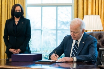 """Before I took office, I promised you that help was on the way. Today, I signed the American Rescue Plan into law, and can officially say: help is here."" - Joe Biden, President Biden Twitter"