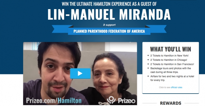 The Hamilton Planned Parenthood Fundraiser is No Joke... Or is it?