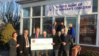 The Knights of Columbus raised over $80,000 for a new ultrasound machine and dedicated medical space for A Woman's Concern in Lancaster, Pennsylvania.