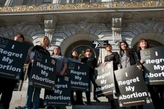 A flawed study claims that few women regret abortion