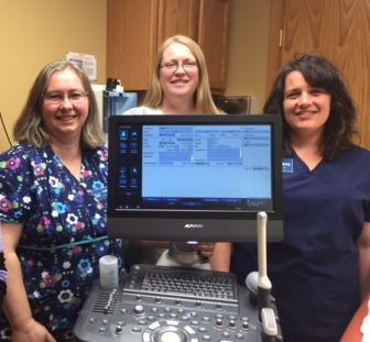 True Care nursing staff (from left): Nurse Manager Sally Heyer; Staff Nurse and Program Director Rebecca Tharp; Staff Nurse Sara Beer