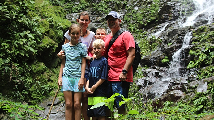 Bethany Jasper, U.S. Affiliation Specialist at Heartbeat International, explored Costa Rica's stunning sights and even made a couple of mission-driven stops while on vacation with her husband and and children this summer.