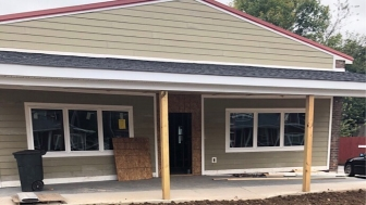 This former restaurant-bar is currently undergoing renovations to become the new location of Haven Care Center in Danville, Kentucky.