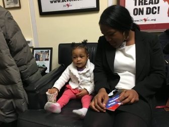 D.C. Mom, Baby Find Home Away from Home