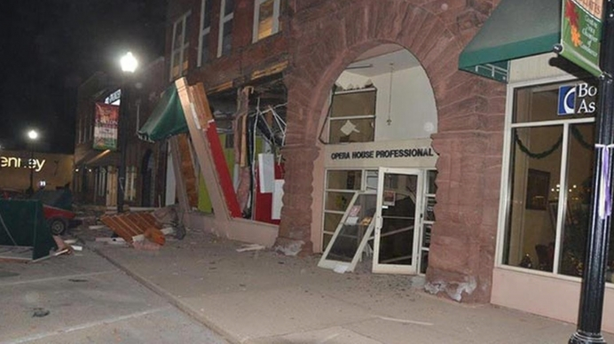 Spoon River PC's building was destroyed in a Nov. 16 gas explosion.