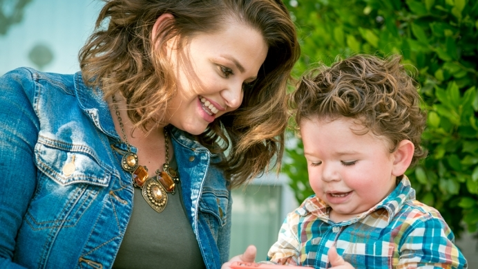 Rebekah Buell Hagan and her son, Zechariah, who she rescued through the Abortion Pill Reversal in 2013.