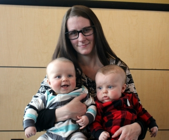 Kristi and her sons