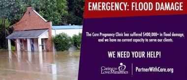 Sunk by Flood, Louisiana Pregnancy Clinic Seeking Mobile Solution