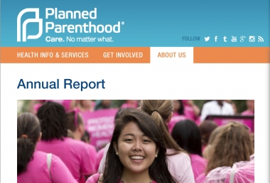 Planned Parenthood Reports, Pregnancy Help Community Watching