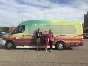 Susan Skogland and the Quad Cities Pregnancy Resource Center will cut the ribbon on the Hope Van July 15.