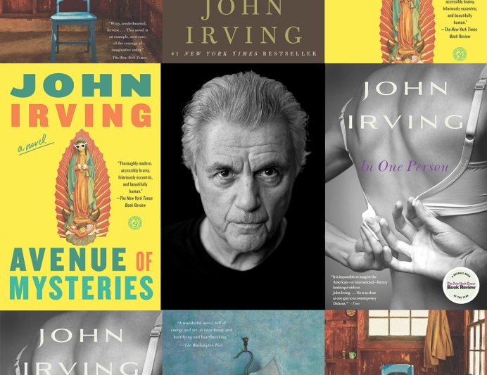New fiction by John Irving – dismisses half of Americans' beliefs in one New York Times article