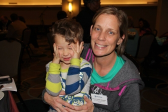 Laura saved her son, Cash, after seeing him on an ultrasound at a pregnancy center in 2013.