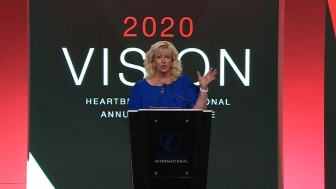 Heartbeat International Vice President of Mission Advancement Cindi Boston-Bilotta