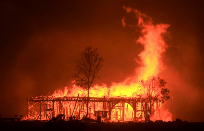 Fires raging throughout California have destroyed over 2,000 homes and businesses.