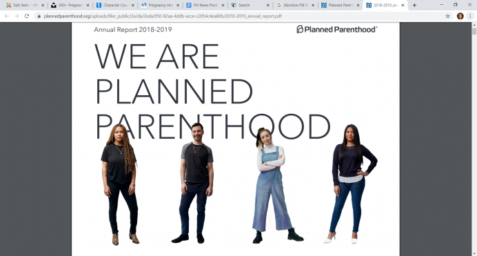 Planned Parenthood annual report: More government money, more abortions