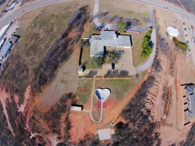 Overhead view of Pregnancy Help Center