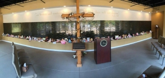 National Memorial for the Unborn in Chattanooga, Tenn., where Sue's first son, Steven, is remembered.
